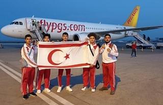 KKTC Kickboks Milli Takımı Avrupa Kupasında mücadele...