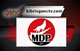 MDP'den Türkeş'in ölüm yıldönümü dolayısıyla...