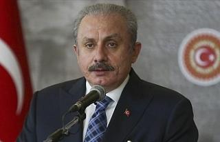 Şentop, Tatar'a başsağlığı diledi
