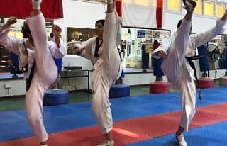Taekwondocular federasyonun kuruluşu için yarıştılar