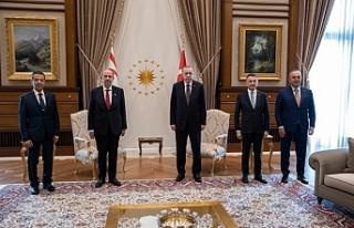 Tatar, Ankara'da Erdoğan ile görüştü