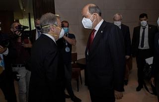 Tatar, BM Genel Sekreteri ile bir araya geldi