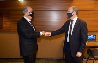 Tatar, İngiltere Dışişleri Bakanı Raab ile görüştü
