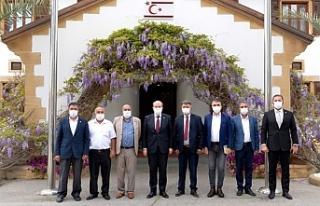 """Tatar: """"Kıbrıs Türkü egemenliğinden ve kendi..."""