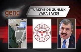 Türkiye'de 42 bin 308 kişinin Kovid-19 testi...