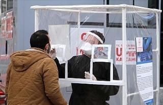 Türkiye Kovid-19 testlerinin pozitiflik oranı son...