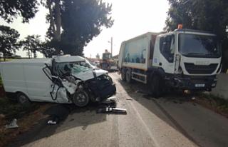 Yedikonuk-Mehmetçik Anayolu üzerinde kaza