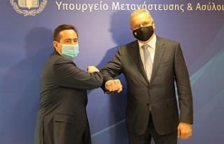 Yunanistan ve Güney Kıbrıs kaçak mülteci sorununu...