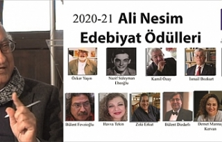 Ali Nesim Edebiyat Ödülleri açıklandı