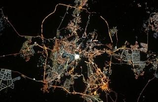 """Fransız astronottan uzaydan """"Kabeli"""" Ramazan..."""