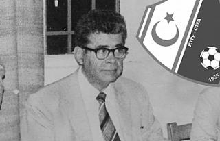 KTFF kurucu başkanı Ahmed Sami Topcan kabri başında...