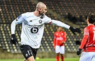 Lille, Burak Yılmaz ve Zeki Çelik'in golleriyle...