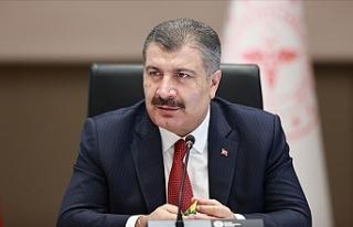 Türkiye Sağlık Bakanı Koca'dan sosyal medyada...