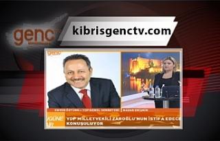 YDP Genel Sekreteri Öztürk, Zaroğlu'nun istifa...