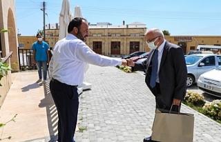 Başkonsolos Çetin'den İskele Belediyesi'ne...