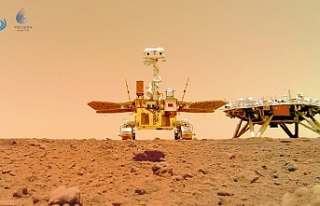 Çin'in Mars gezgin aracı Curong, Kızıl Gezegen'den...