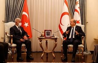 Cumhurbaşkanı Tatar Çukurova Derneği Başkan ve...