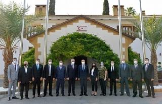 Cumhurbaşkanı Tatar, Sanayi Odası Başkanı Kamacıoğlu...