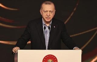 """Erdoğan: """"Egemen eşitliğe dayalı iki devletli..."""