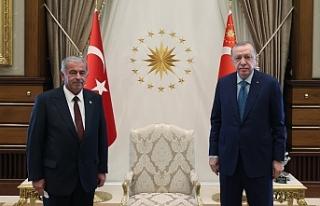 Erdoğan, Sennaroğlu'nu kabul etti