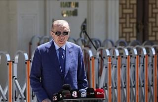 """Erdoğan: """"Türkiye NATO ülkeleri arasında..."""