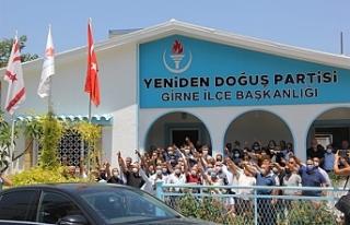 Girne'de YDP'ye katılımlar