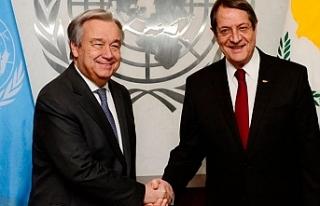 Önce Lute, sonra Guterres' ile görüşecek