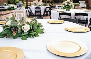 Türkiye'de düğünlerde yemek ve ikram yasağı...