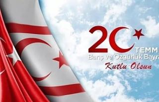 20 Temmuz Barış ve Özgürlük Bayramı mesajları