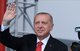 Erdoğan adadan ayrıldı