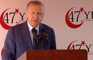 """Erdoğan: """"Kıbrıs konusunda haklıyız, sonuna..."""