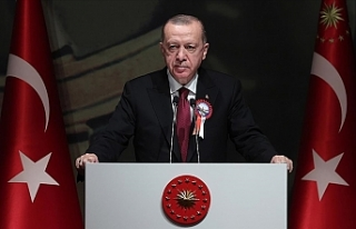 """Erdoğan: """"Kuzey Kıbrıs'a, müjdesini..."""