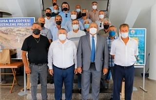 Mersin'li Muhtarlardan Gazimağusa Belediyesi'ne...
