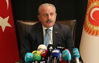 """Şentop: """"Kıbrıs Türk tarafının yeni vizyonu..."""