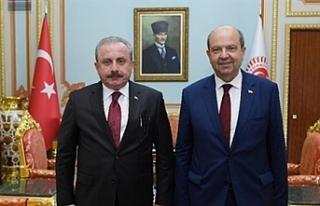 Tatar'dan Şentop'a teşekkür