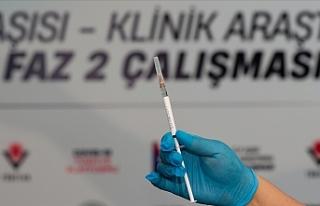 Türkiye'de VLP aşısının Faz 2 aşamasında...