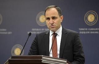 Türkiye Dışişleri Bakanlığı Sözcüsü Bilgiç,...