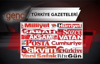Türkiye Gazetelerinin Manşetleri - 30 Temmuz 2021