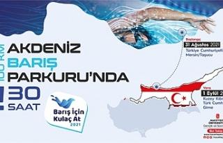 Barış Günü'nde Taşucu'ndan Girne'ye yüzecekler