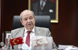 "Cumhurbaşkanı Tatar'dan halka ""aşı olun""..."