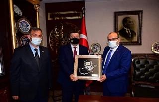 Din Gör-Sen Başkanı Çakır, Trabzon'da temaslarda...
