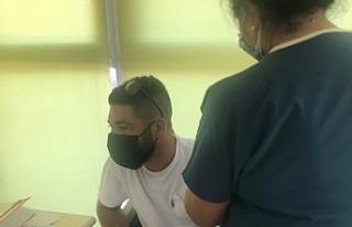 Ercan Havalimanı personeline 3. doz koronavirüs...