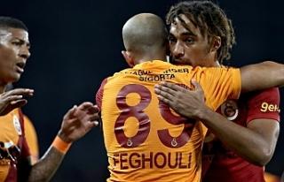 Galatasaray, 2'de 2 yaptı