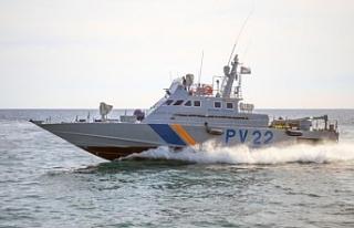 Güney de mülteci teknesinden atlayan bir kişi kayıp