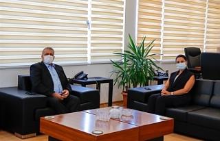 HP Milletvekili Baybars, Gazimağusa Belediye Başkanı...