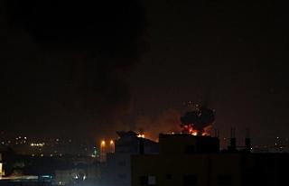 İsrail ordusu, Gazze Şeridi'nde bazı noktalara...