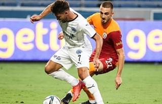 Kasımpaşa 2-0'dan döndü Galatasaray'dan...