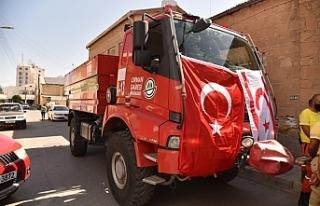 KKTC'den Türkiye'deki yangınlar için...