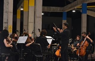 Merkez Lefkoşa'da Oda Orkestrası Konseri verildi