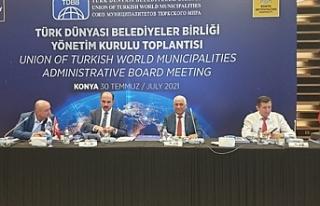 Özçınar, Türk Dünyası Belediyeler Birliği'nin...